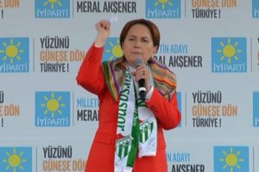 Meral Akşener: Bursa'nın gençleri iş mi buldu?