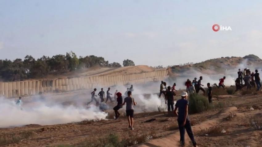 İsrail askerleri Gazze sınırında 2 kişiyi öldürdü