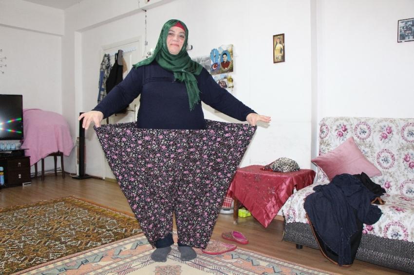 Her şey bir mektupla başladı: 78 kilo verdi