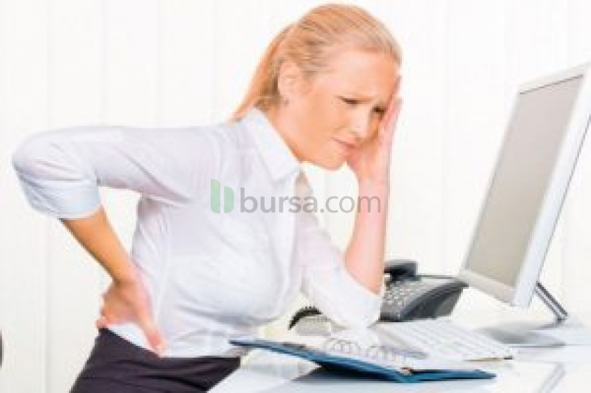 Ofis çalışanlarında kas ağrıları kabus olabilir