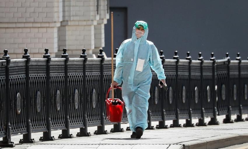 Rusya'da korona virüs vaka sayısında bir günde rekor artış