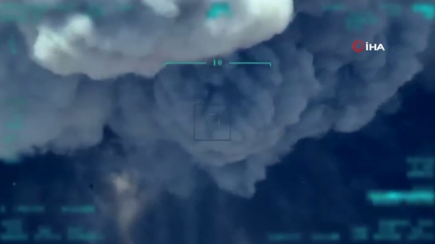 Mühimmat ikmali yapan teröristler havaya uçuruldu