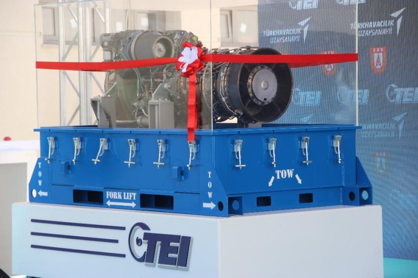 İlk yerli helikopter motoru Savunma Sanayii'ne teslim edildi