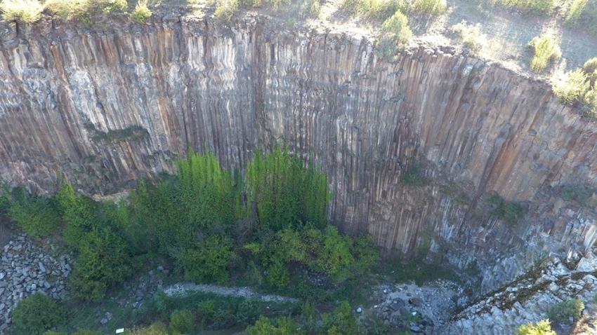 Türkiye'deki tek tescilli kayalık