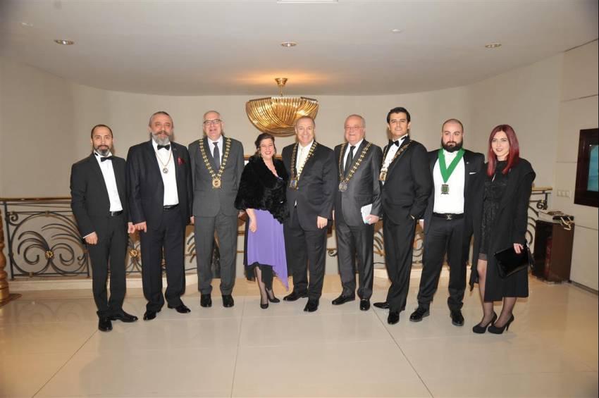 Skal Kulübü tüm üyeleriyle Almira Hotel'de bir araya geldi