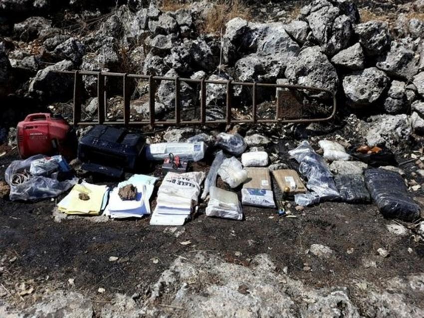 PKK'ya ait 3 sığınakta mühimmatlar bulundu