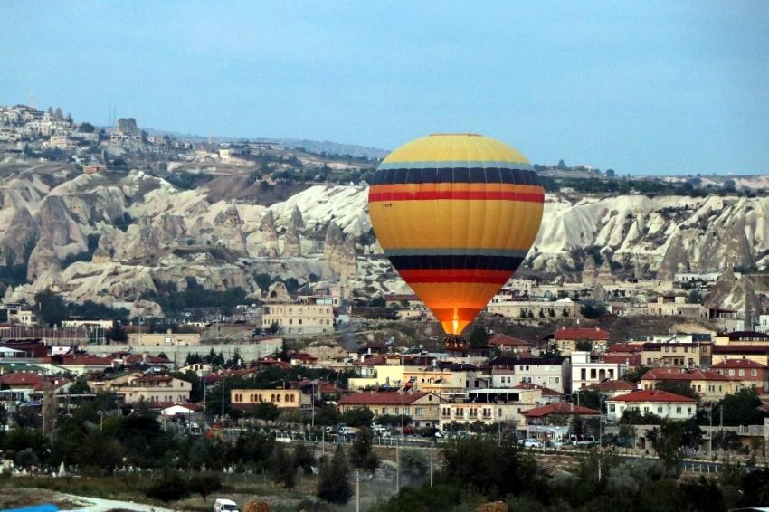 Kapadokya'da turist sayısı yüzde 13,5 arttı