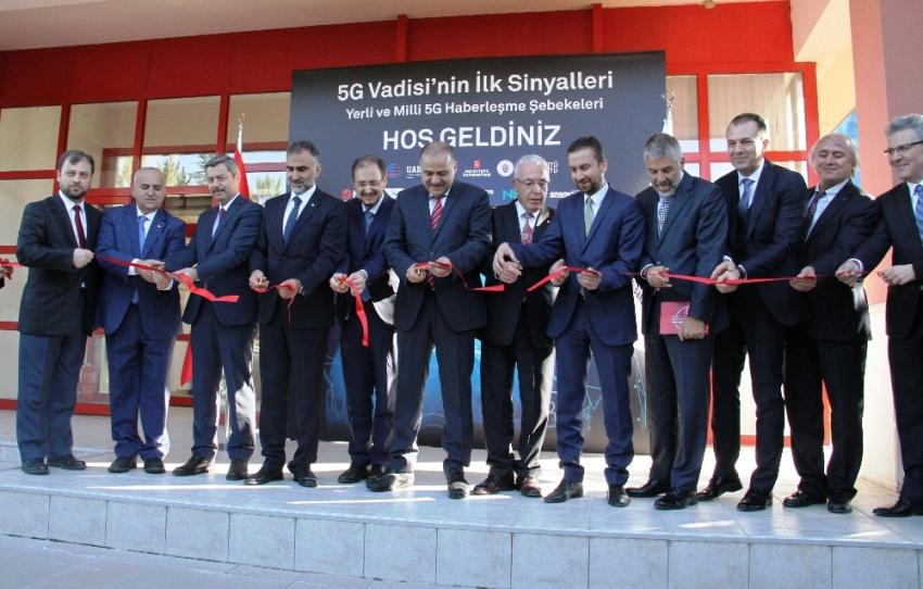 Türkiye'nin '5G Vadisi Açık Test Sahası' açıldı