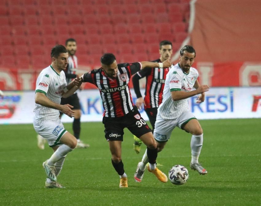 Bursaspor, Samsun'dan eli boş dönüyor