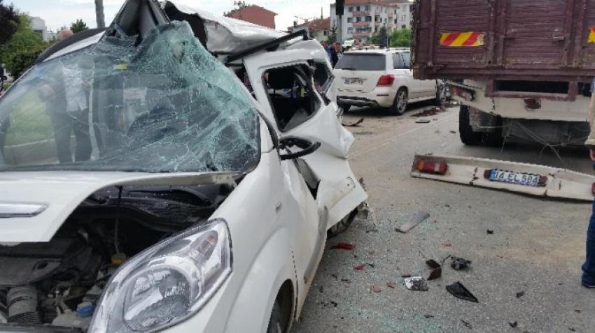 Zincirleme trafik kazası! 6 yaralı