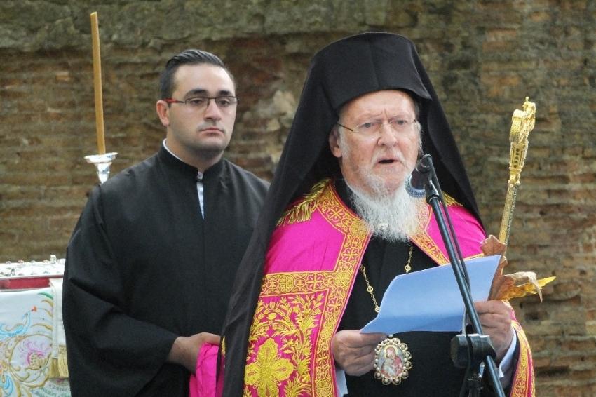 Bartholomeos'tan huzur ve barış duası