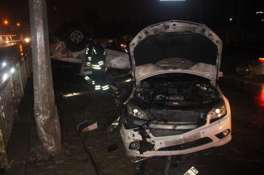 Alkollü sürücü dehşeti: 2 ölü, 3 yaralı