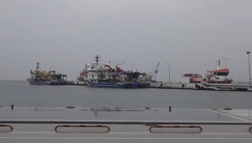 Gemiler rota değiştirdi, balıkçılar açılamadı