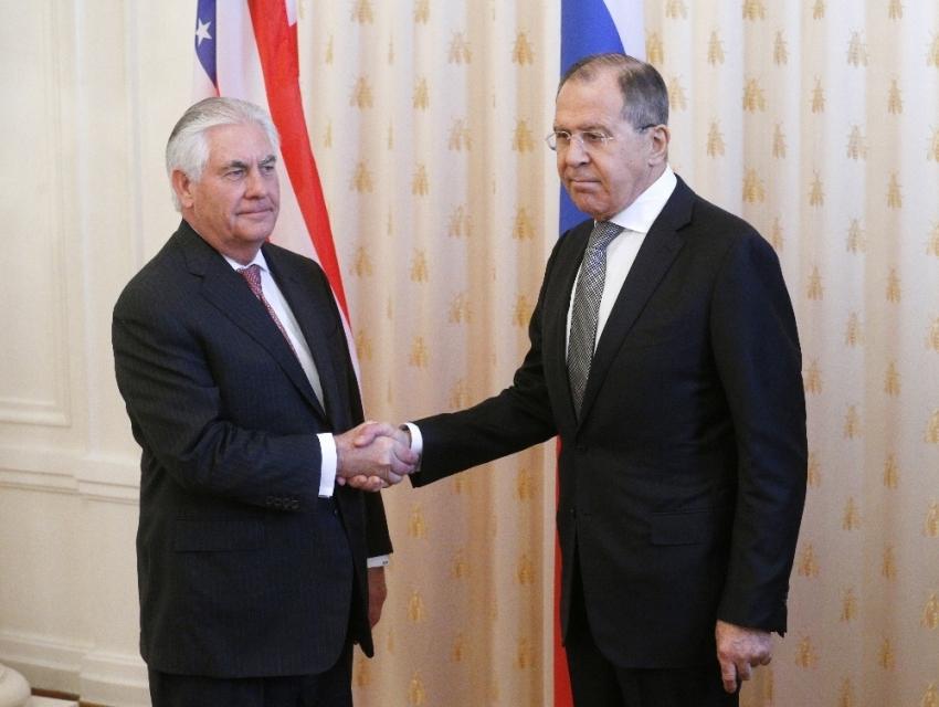 İki bakan Suriye'yi görüşmüş
