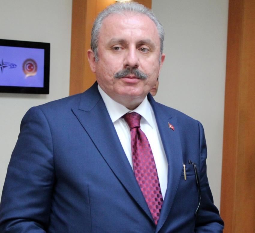 TBMM Başkanı Şentop'dan İsrail'in saldırısına kınama