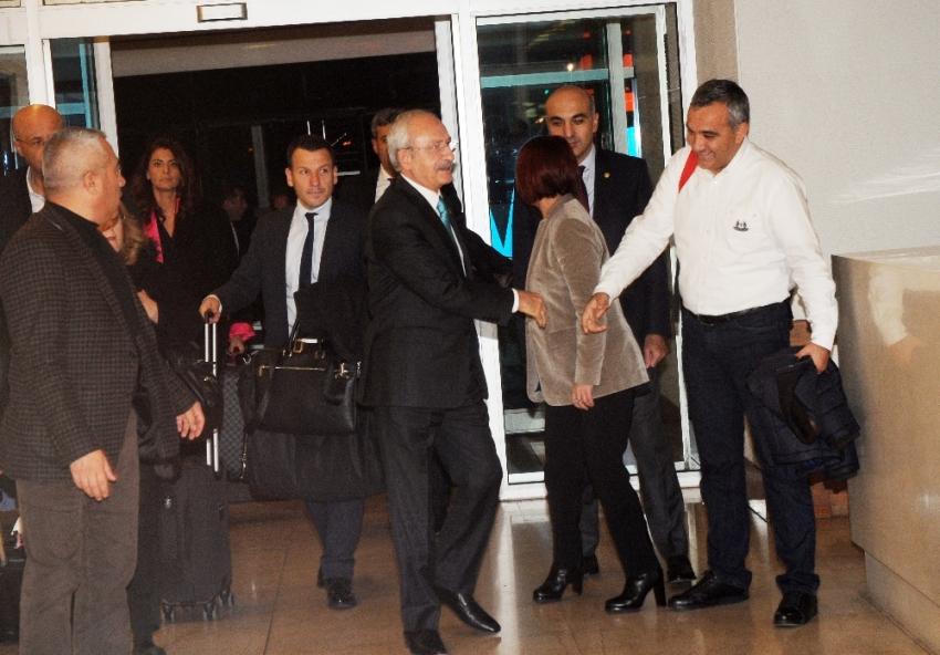 Kemal Kılıçdaroğlu Strazburg'a gitti
