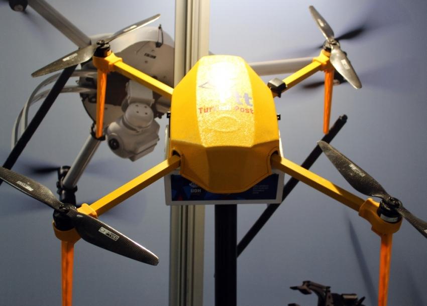 Kargolar artık drone ile gönderilecek