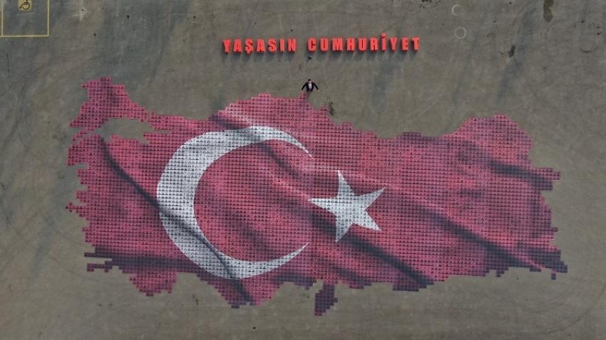 29 Ekim'in en güzel fotoğrafı Osmangazi'den