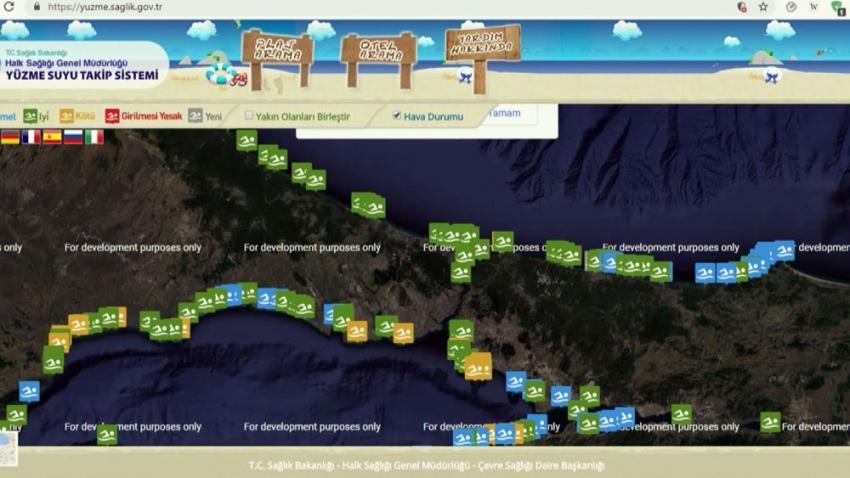 Deniz suyu analizinde 11 plaj kötü olarak derecelendirildi