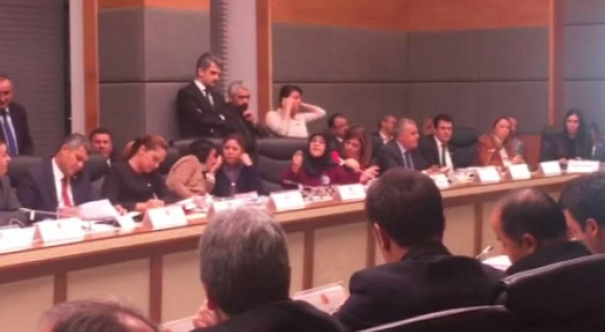 AK Parti ve HDP milletvekilleri arasında gerginlik