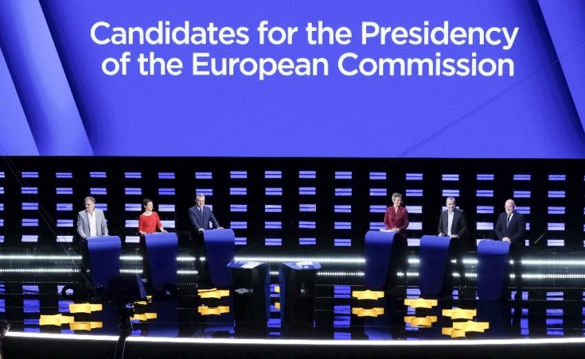 Avrupa Komisyonu seçimleri öncesi son tartışma başladı