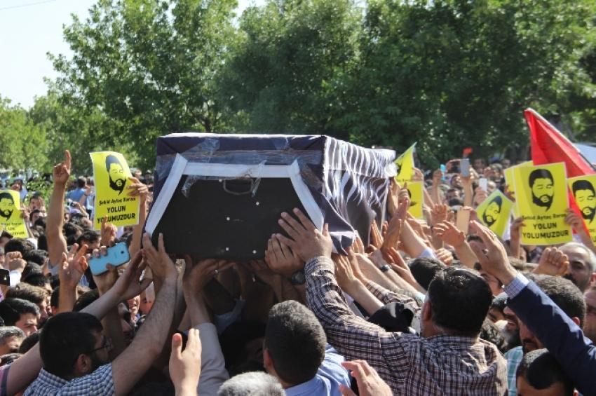 İhya-Der Başkanı'nın cenazesinde gerginlik