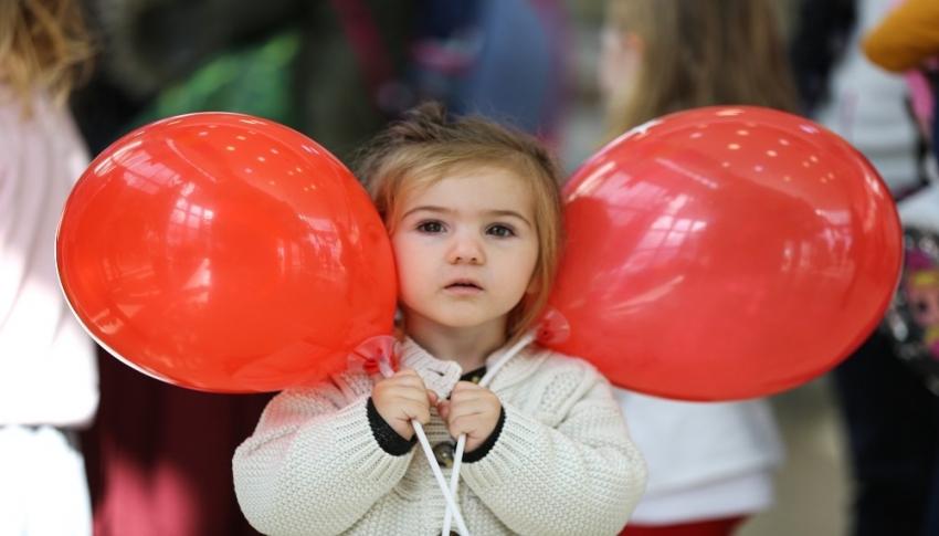Maltepe'de Çocuk Şenliği masal ile şenlendi