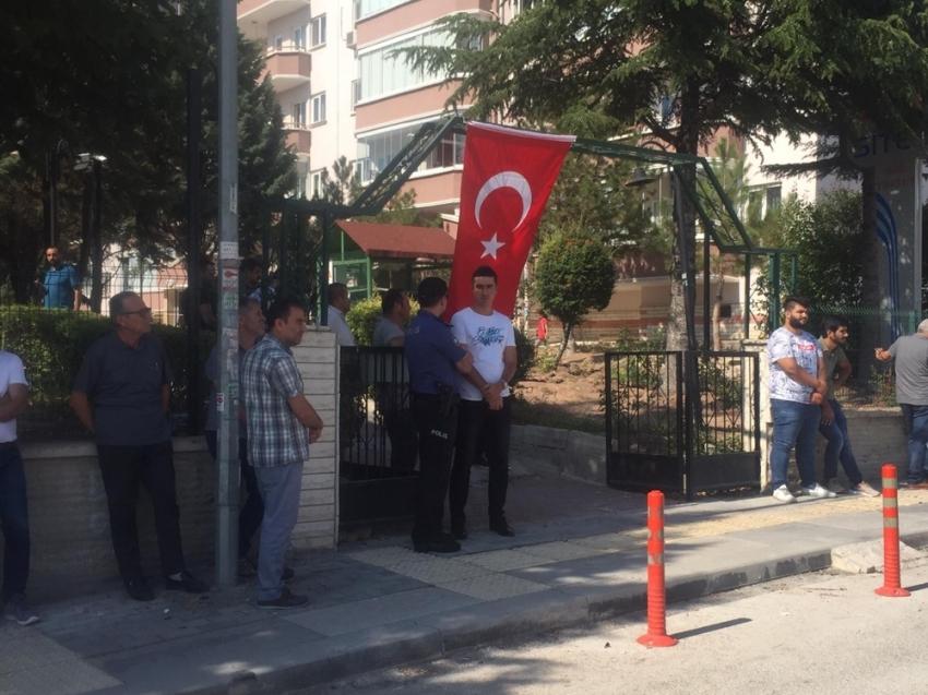 Mardin şehidinin Ankara'daki evine ateş düştü