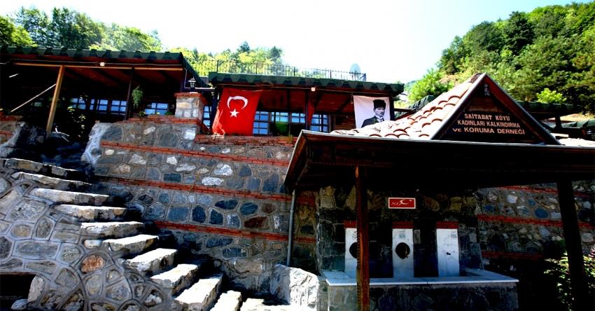 Bursa Saitabat Köyü ve Saitabat Şelalesi