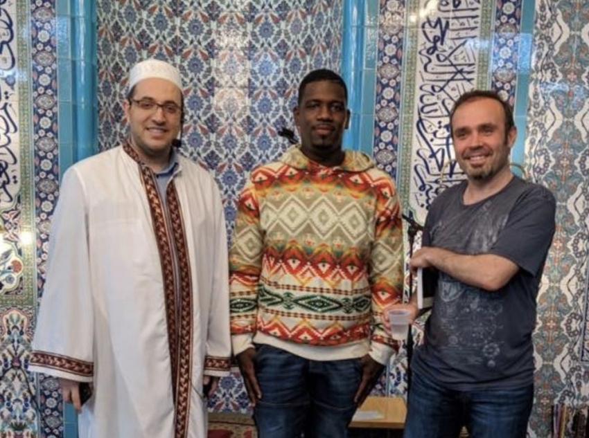 Amerikalı Antoine, Müslüman oldu
