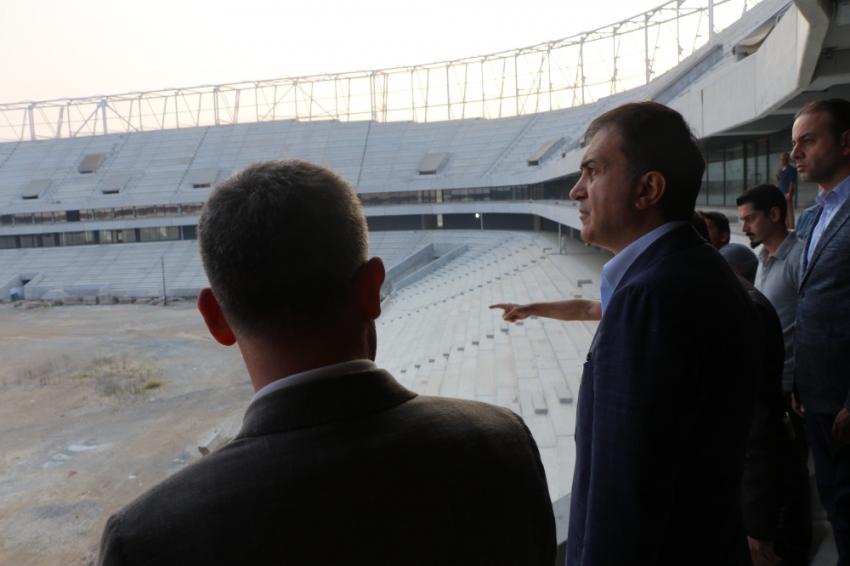 Adana Şehir Hastanesi ve Koza Stadyumu'nu inceledi!