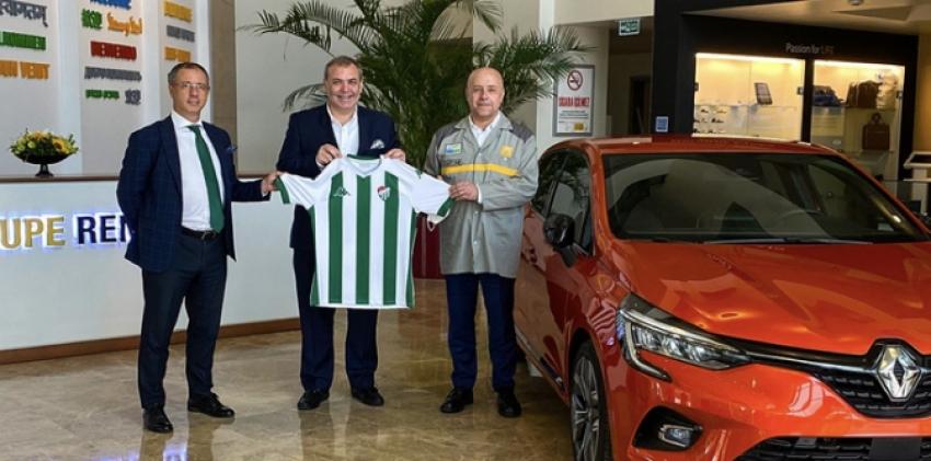 Başkan Erkan Kamat Oyak Renault'u ziyaret etti.