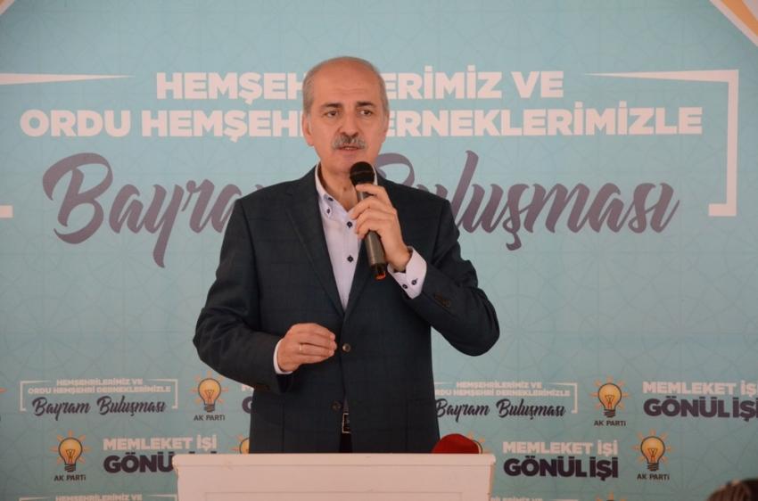 """Kurtulmuş: """"İmamoğlu, 'benim PKK'nın desteğine ihtiyacım yok' desin"""""""