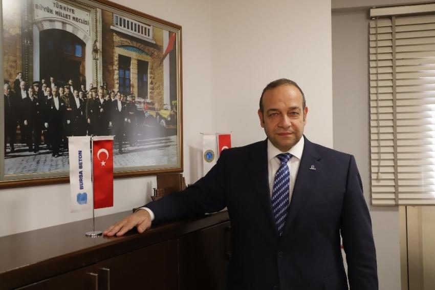 Bursa Beton, 19 Mayıs Atatürk'ü Anma, Gençlik ve Spor Bayramını kutladı