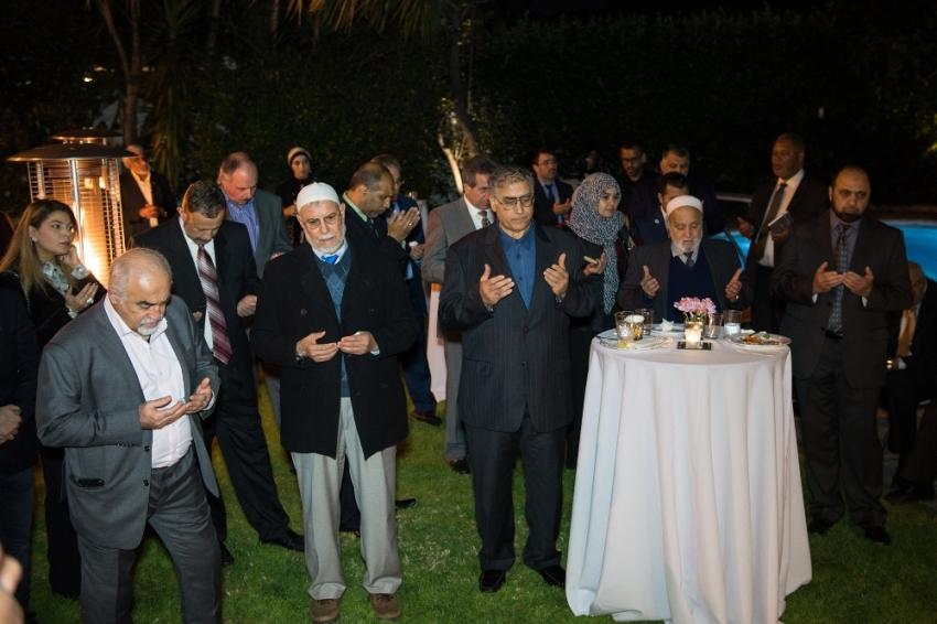 Los Angeles'ta Müslümanlar Türk Başkonsolosluğunda buluştu
