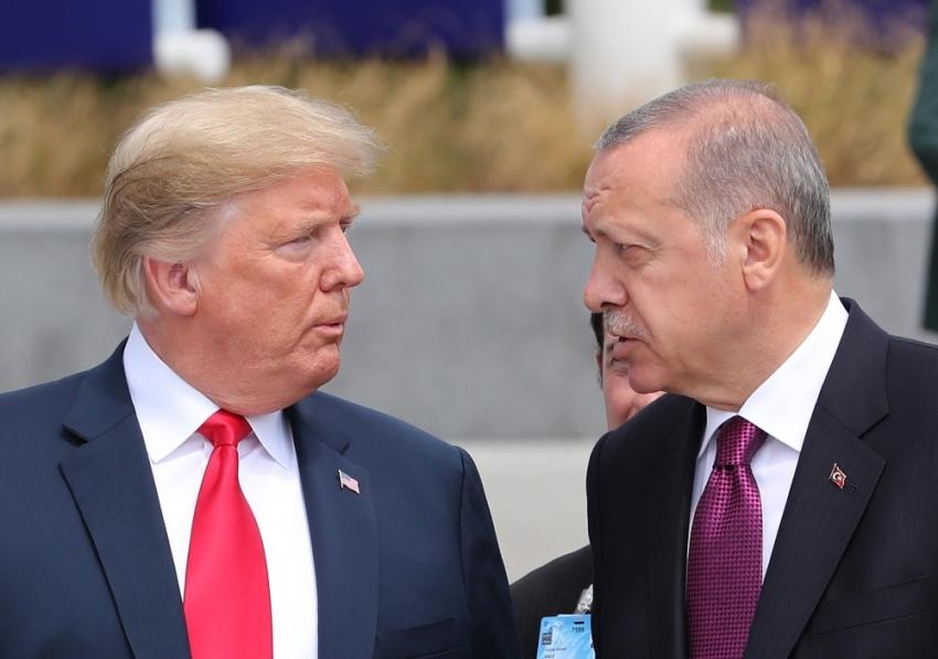 Erdoğan'la Trump telefonda görüştü