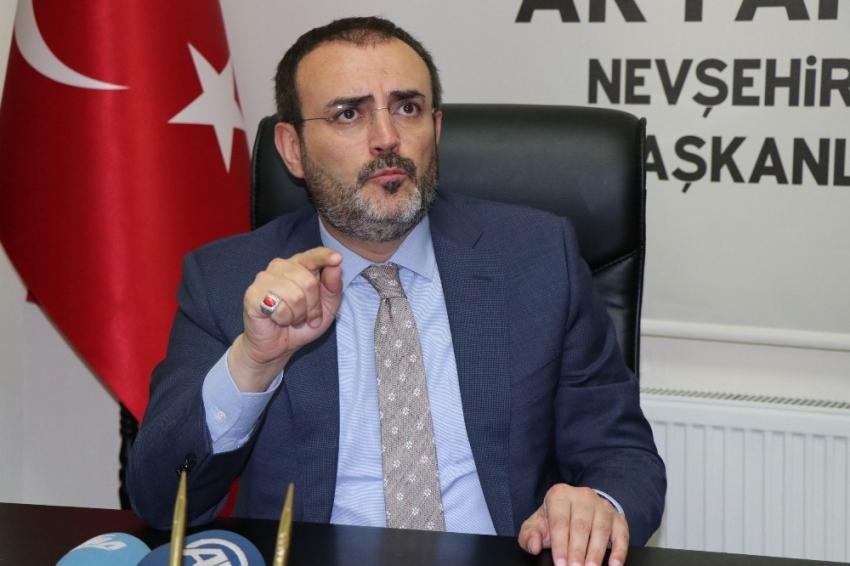 Ünal'dan CHP'li Aldan'ın sözlere sert eleştiri