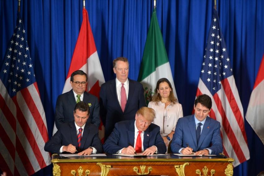 3 lider NAFTA'nın yerini alacak anlaşmayı imzaladı