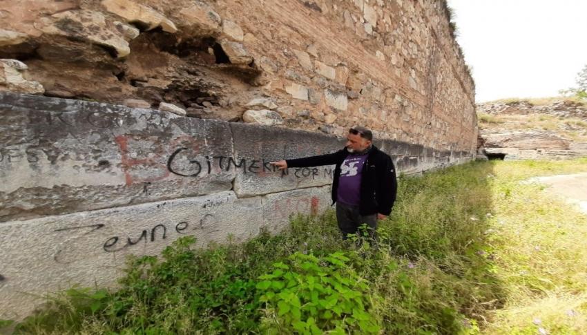 Bursa'da tarihe saygısızlık