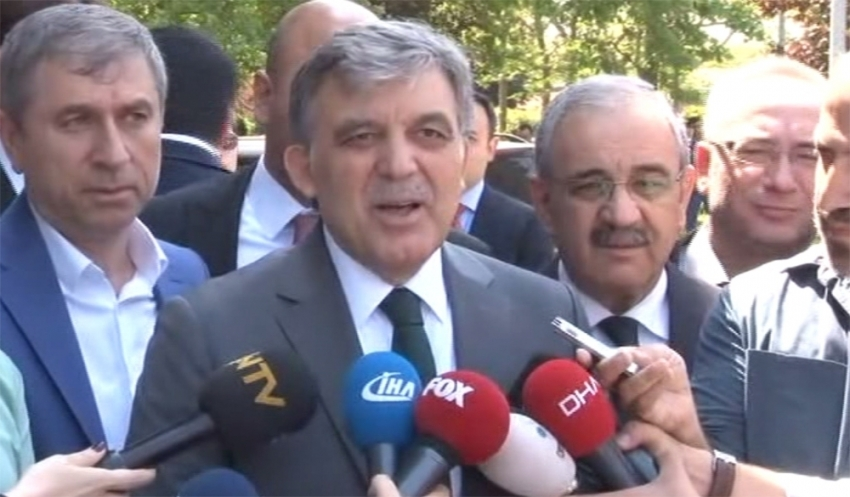 Abdullah Gül'den Hulusi Akar'ın ziyaretiyle ilgili açıklama