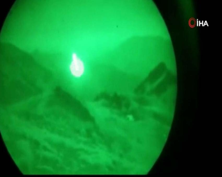 Pençe-2 Harekatı kapsamında PKK hedefleri 'ATAK' tarafından vuruldu
