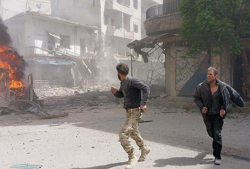 Esad klor gazıyla saldırdı