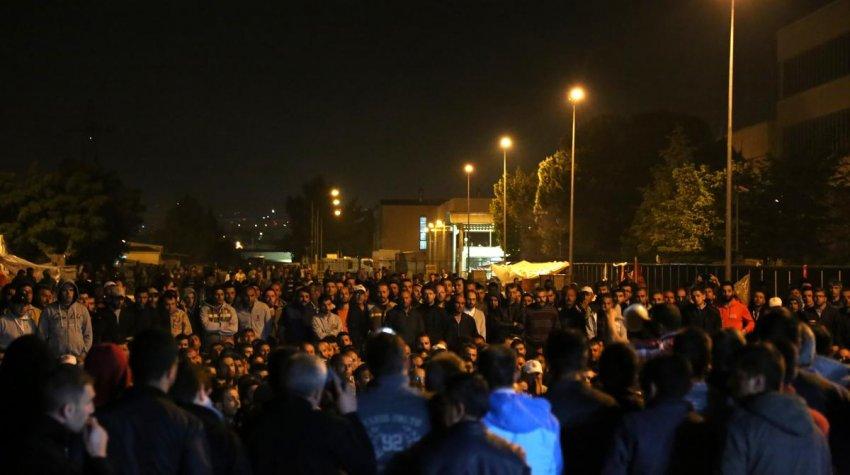 Bursa'da anlaşma yok eyleme devam!