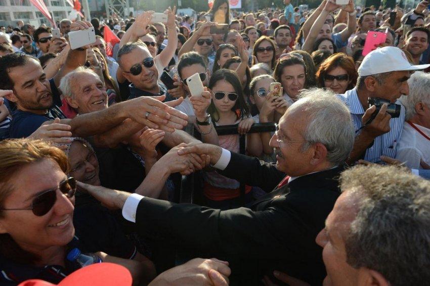 Bursa'dan Kılıçdaroğlu geçti