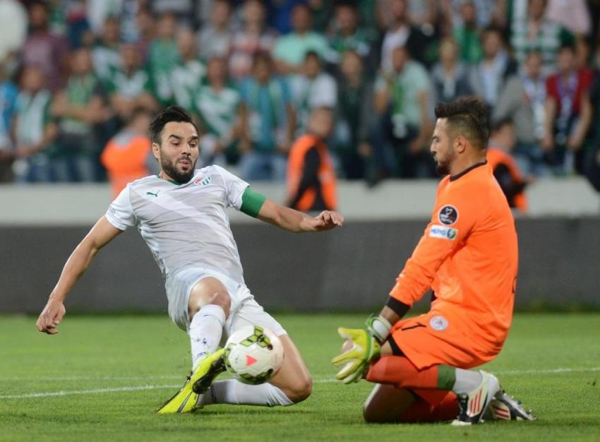 Bursaspor Torku Konyaspor maçından en güzel kareler