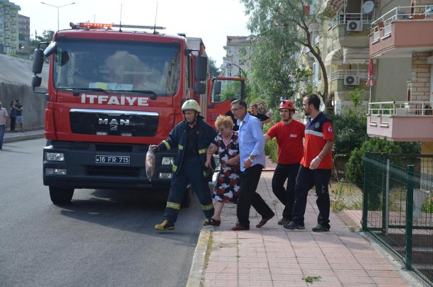 Bursa'da seçim günü korkutan yangın!