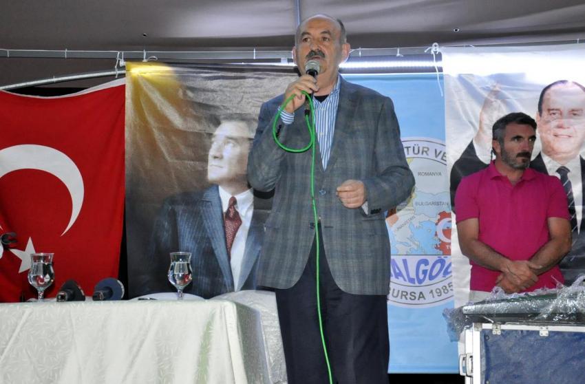 Müezzinoğlu, Bursa'da iftar programına katıldı
