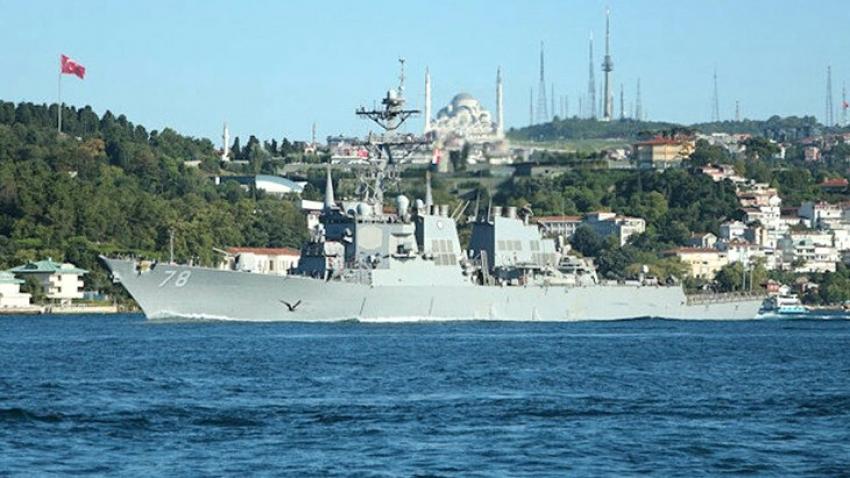 ABD, Karadeniz'e göndereceği savaş gemisi bildirimini geri çekti