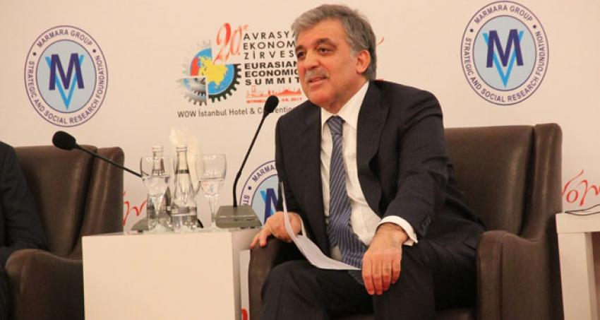 Abdullah Gül'den siyasi partilere övgü