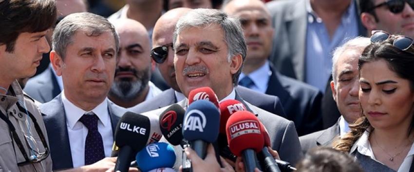 Abdullah Gül'den Gülen açıklaması